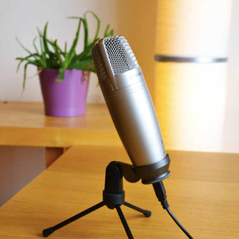 NeuroLog - praktijk - berchem - microfoon